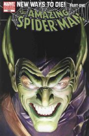 Amazing Spider-man #568 Alex Ross Variant First 1st Print (2008) New Ways To Die Marvel comic book